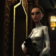 Padmé Amidala-Skywalker (Animated, White Battle)
