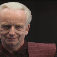 Chancellor Palpatine (Episode III, Senate Chamber)