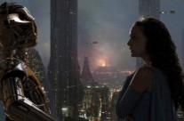Padmé Amidala/Skywalker (Aqua Georgette Gown)