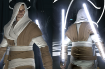 Galen Marek – Ceremonial Jedi Robes
