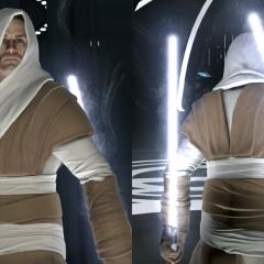 Galen Marek – Ceremonial Jedi Robes