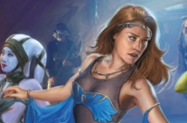 Mara Jade (as Arica- Blue dancing dress)