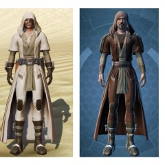 SWTOR Relnex style Jedi Robes