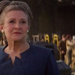 Leia Organa (Resistance blue dress)